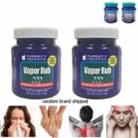 2 Vapor Rub Ointment Vaporize Blocked Nose Cough Nasal Congestion Headache 220g - 1