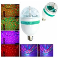 LED Rotating Light Lighting Full Color Disco Party Crystal Ball Lights Effects - 1