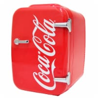 Cooluli Coca-Cola Vintage Chic 4 Liter Portable Compact Mini Fridge