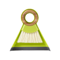 Full Circle Tiny Team Mini Brush and Dustpan - Green