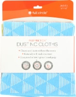 Full Circle Pulp Friction Dusting Cloths - 3 ct