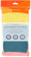 Full Circle Recycled Plastic Scrubber Sponges - Blue / Yellow