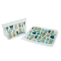 Full Circle Cactus Party Reusable Lunch Bag Set