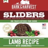 Superior Farms Pet Provisions MF02047 6 oz USA Burgers Lamb with Cranberry Dog Treat - 1