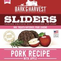 Superior Farms Pet Provisions MF02049 6 oz USA Burgers Pork with Apple Poly Dog Treats - 1