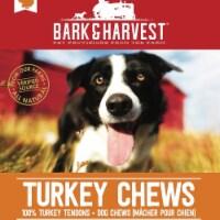 Superior Farms Pet Provisions MF02050 2 oz USA Turkey Chews Poly Dog Treats