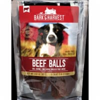 Superior Farms Pet Provisions MF02118 100 g Beef Balls Jerky in Poly Bag - 1