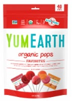 Yum Earth 40-Count Organic Pops Variety Pack