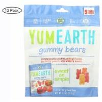 YumEarth Organics Gummy Bear Snack Packs 5 Count