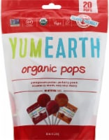 YumEarth Organic Pops Lollipops 20 Count