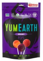 Yum Earth Organic Halloween Wrapped Pops - 8.7 oz