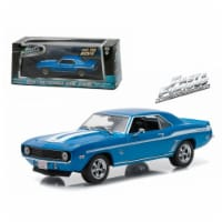 Greenlight 86206 Brians 1969 Chevrolet Yenko Camaro The Fast & The Furious-2 Fast 2 Furious M - 1