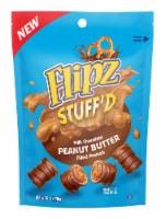 Flipz Stuff'd Milk Chocolate Peanut Butter Filled Pretzels - 6 oz