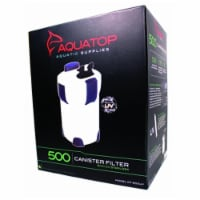 Aquatop Aquatic Supplies 5 Stage Canister Filter With Uv Sterilizer Up To 175 Gal CF500-UV