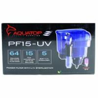 Aquatop Aquatic Supplies Hang On Filter With Uv Sterilizer 15 Gal PF15-UV