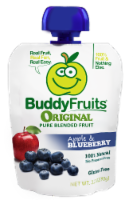 Buddy Fruits Original Apple & Blueberry Pure Blended Fruit