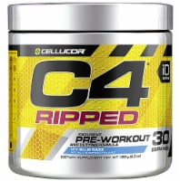 Cellucor  C4® Ripped Pre-Workout   Icy Blue Razz