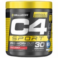 Cellucor C4 Sport Fruit Punch Pre-Workout Powder Supplement