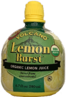 Volcano Lemon Burst Organic Lemon Juice
