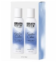 Keratin Perfect Color Smoothing Shampoo and Conditioner Travel Duo Pack