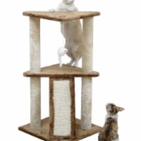 Go Pet Club F701 35 in. Kitten Cat Tree - 1