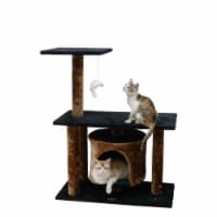 Go Pet Club F706 38 in. Kitten Cat Tree - 1