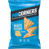 Popcorners White Cheddar Cheese Flavored Popped-Corn Snacks