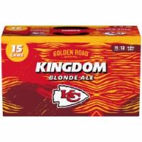 Golden Road Brewing Kingdom Blonde Ale - 15 cans / 12 fl oz