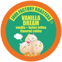 Java Factory Single Cup Coffee for Keurig K Cup Brewers, Vanilla Dream, 40 Count - 40 Kcups