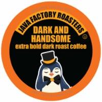 Java Factory Hello Darkness Coffee Pods for Keurig K Cup Brewers, Dark Roast, 40 Count, Brown
