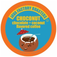 Java Factory Flavored  Chocolate and Coconut Coffee Pods, Choconut , 40 Count