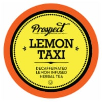 Prospect Tea Decaffeinated Lemon Taxi Herbal Tea Pods for Keurig K-Cup Makers, 40 Count