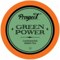 Prospect Tea Green Power Caffeinated Tea Pods for Keurig K-Cup Makers, 40 Count