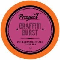Prospect Tea Pomegranate White Tea Pods for Keurig K-Cup Makers, Graffiti Burst, 40 count