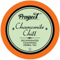 Prospect Tea Decaffeinated Chamomile Chill Herbal Tea Pods for Keurig K-Cup Makers, 40 Count