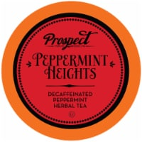 Prospect Tea Peppermint Heights Herbal Tea Pods for Keurig K-Cup Makers, 40 Count