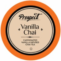Prospect Tea Co. Caffeinated Vanilla Chai Tea Pods for Keurig K-Cup Brewers, 40 Count - 40 Kcups
