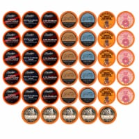 TWO RIVERS COFFEE Medium Roast Coffee Pods, Variety Sampler Pack, 40 Count - 40 Kcups