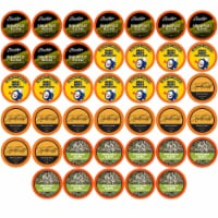 Two Rivers Coffee Light Roast Coffee Pods, Variety Sampler Pack, 40 Count