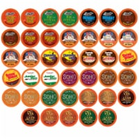 Two Rivers Hot Chocolate Pods Variety Sampler Pack for Keurig K-Cup Makers 40 ct