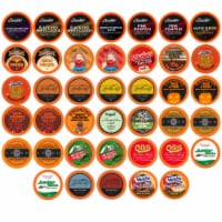 Two Rivers Fall Flavors Single-Cup Sampler Pack for Keurig K-Cup Brewers, 40 Count - 40 Kcups