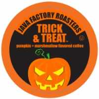 Java Factory Flavored Pumpkin Marshmallow Coffee Pods, Trick and Treat, 40 Count - 40 Kcups