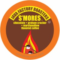 Java Factory Single-Cup Coffee for Keurig K-Cup Brewers, S'mores, 40 Count - 40 Kcups
