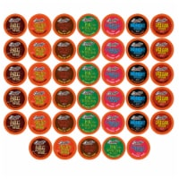 Brooklyn Beans Hot Chocolate Variety Pack Pods for Keurig K Cup Brewers, 40 Count