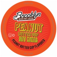 Brooklyn Beans Peanut Butter Chocolate Hot Cocoa Pods for Keurig K-Cups Maker, 40 Count