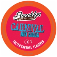 Brooklyn Beans Flavored Hot Cocoa Pods, Carnival Chocolate Salted Caramel, 40 Count