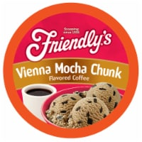 Friendly's Ice Cream Coffee Pods for Keurig K Cup Brewers, Vienna Mocha Chunk, 40 Count