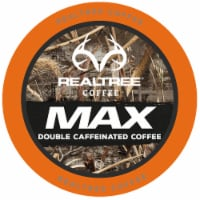 Realtree MAX Double Caffeinated Coffee Pods for Keurig K-Cup Brewers, 40 Count - 40 Kcups