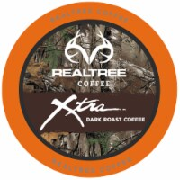Realtree Xtra, Dark Roast Coffee Pods for Keurig K-Cup Brewers, 40 Count - 40 Kcups