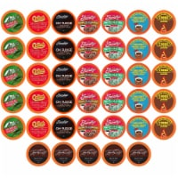 Two Rivers Chocoholic Coffee and Hot Chocolate Variety Pack Pods, 40 Count